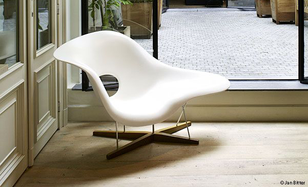 Featured - The Chaise Lounge chair designed in 1948 by Ray and Charles Eames