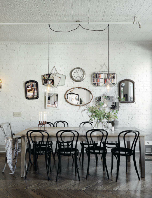 Beautiful Thonet 214 Dining Chairs In A Harlem Brownstone House U2013 Via Bliss