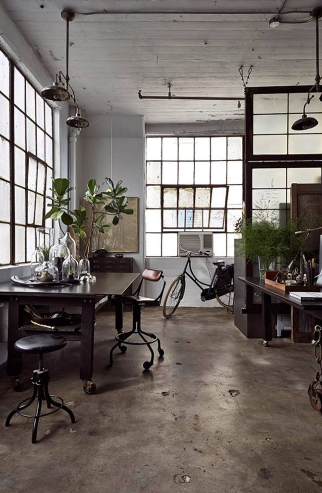 Naver for Interior design inspiration industrial