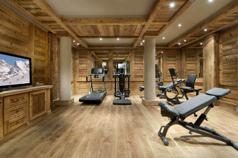 The home gym - Images of home gyms ...