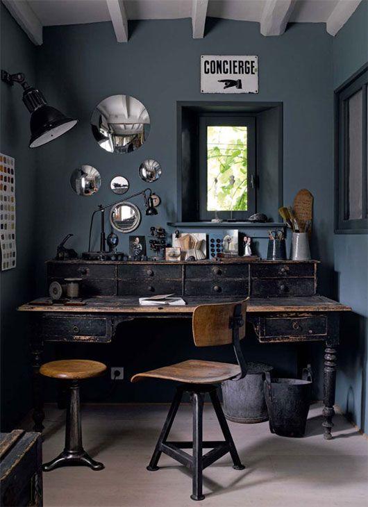 dark decor. Black Bedroom Furniture Sets. Home Design Ideas