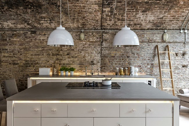 Beautiful Kitchen By Neptune In An Old Industrial Building I Like The