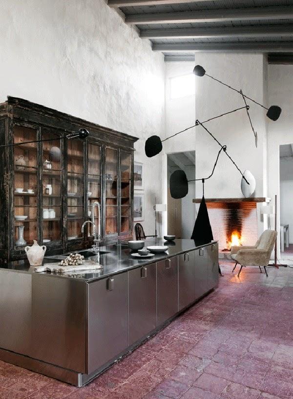 Minimal kitchens in old buildings - Keuken industriele loft ...