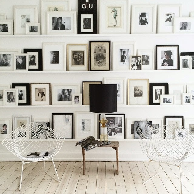 Do you like gallery walls - Scandinavian homes the charm of the north ...