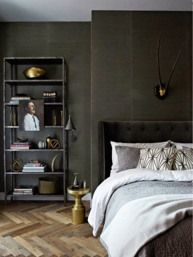 Dark bedrooms for the dark season - Apartment ideas for guys ...