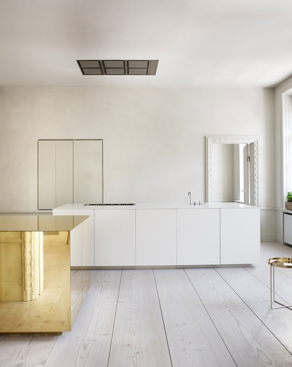 minimal kitchens in old buildings. Black Bedroom Furniture Sets. Home Design Ideas