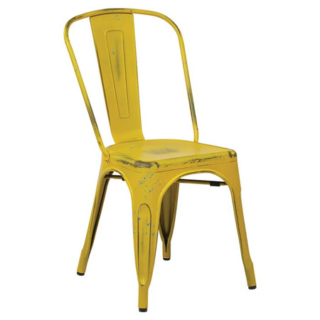Bria Side Chair in Antique Yellow, set of 4 from Joss & Main - from USD 620,00 for USD 280,95