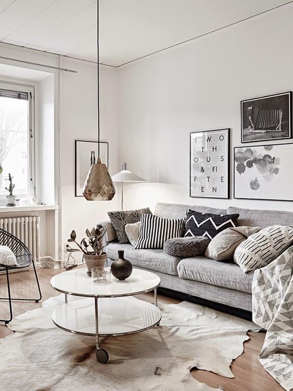 on trend monochrome interiors. Black Bedroom Furniture Sets. Home Design Ideas